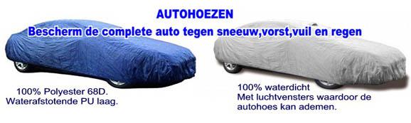 autohoes,dakhoes,auto sneeuw en vorstvrij