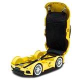 Ridaz kids reiskoffer Ford Mustang geel