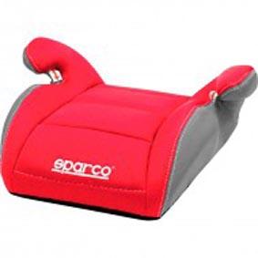 Kinderzitverhoger Sparco F1 rood/grijs