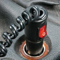 Aanstekerplug + schakelaar | Autoshop.nl